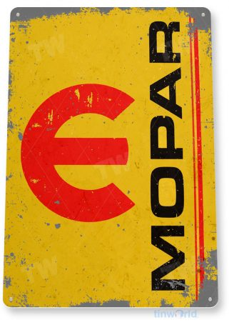 tin sign c726 mopar hemi engine sign rustic retro garage sign auto shop sign tinworld tinsign_com