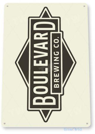 tin sign c736 boulevard beer sign rustic retro pub bar sign brewery cottage cave tinworld tinsign_com