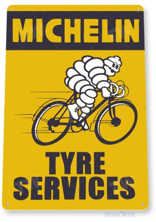 tin sign c775 michelin tyre services tire retro garage sign auto shop sign tinworld tinsign_com
