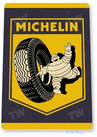 tin sign c777 michelin tyres tires retro garage sign auto shop sign tinworld tinsign_com