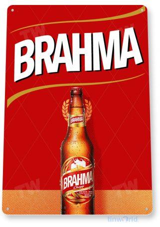 tin sign c874 brahma beer sign tinworld tinsign_com tinworld tinsign_com