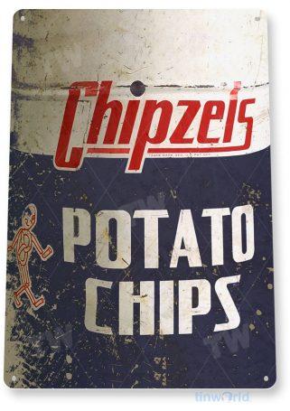 tin sign c887 chipzeis potato chips sign tinworld tinsign_com tinworld tinsign_com
