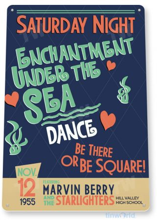 tin sign c906 enchantment under the sea dance sign tinworld tinsign_com tinworld tinsign_com