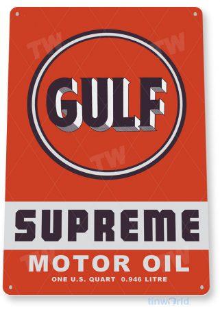 tin sign c927 gulf supreme sign tinworld tinsign_com tinworld tinsign_com