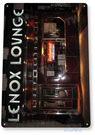 tin sign c957 lenox lounge sign tinworld tinsign_com tinworld tinsign_com
