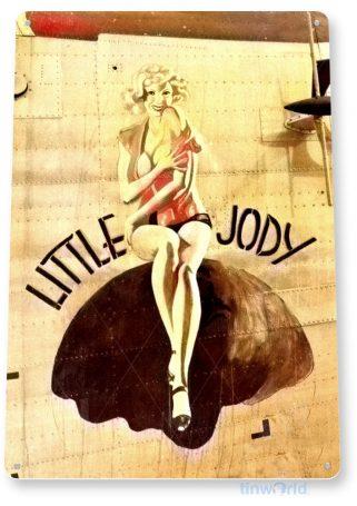 tin sign c960 little jody sign tinworld tinsign_com tinworld tinsign_com