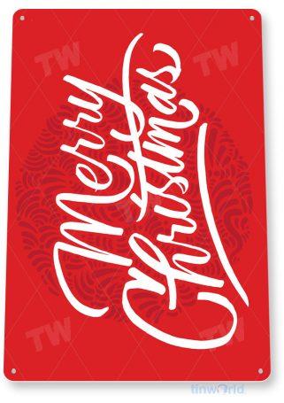 tin sign c967 merry christmas sign tinworld tinsign_com tinworld tinsign_com