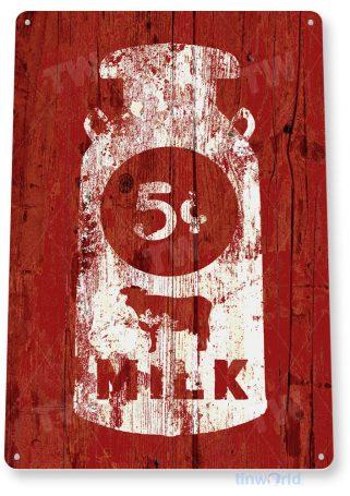 tin sign c968 milk sign tinworld tinsign_com tinworld tinsign_com