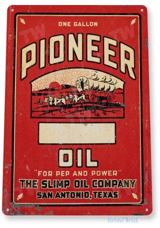 tin sign c980 poineer oil sign tinworld tinsign_com tinworld tinsign_com