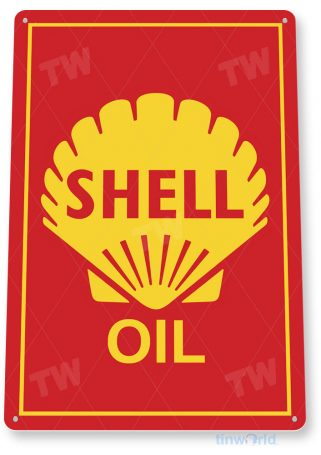 tin sign c990 shell oil shell sign tinworld tinsign_com tinworld tinsign_com