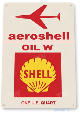 tin sign d024 aeroshell oil sign tinworld tinsign_com tinworld tinsign_com