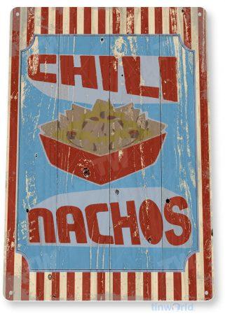 tin sign d026 chili nachos sign tinworld tinsign_com tinworld tinsign_com