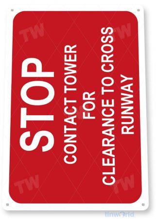 tin sign d027 stop contact clearance sign tinworld tinsign_com tinworld tinsign_com