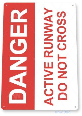 tin sign d028 active runway tinworld tinsign_com tinworld tinsign_com
