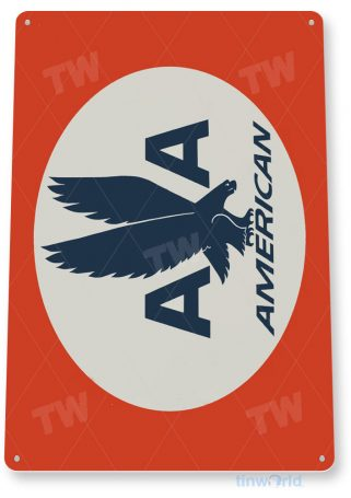 tin sign d039 american airlines sign tinworld tinsign_com tinworld tinsign_com
