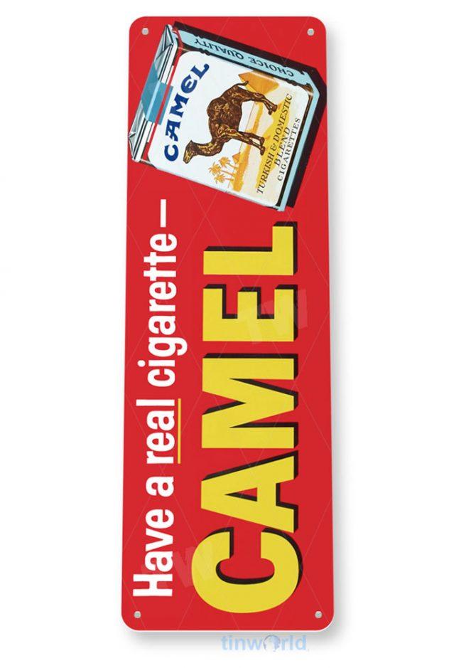 tin sign a268 camel cigarettes retro tobacco sign smoke shop cave tinworld tinsign_com