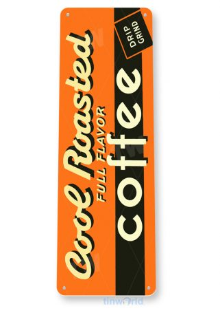 tin sign a306 cool coffee sign kitchen cottage farm tinworld tinsign_com