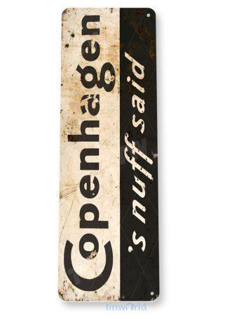 tin sign a309 copenhagen tobacco rustic retro sign smoke shop cave tinworld tinsign_com