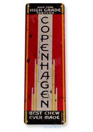 tin sign a864 copenhagen retro chewing tobacco snuff shop store bar cave tinworld tinsign_com