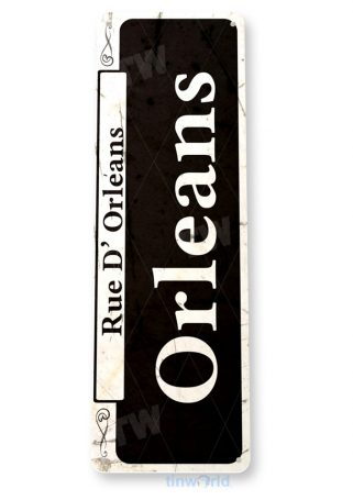 tin sign a867 orleans rustic street sign new orleans shop market french quarter tinworld tinsign_com