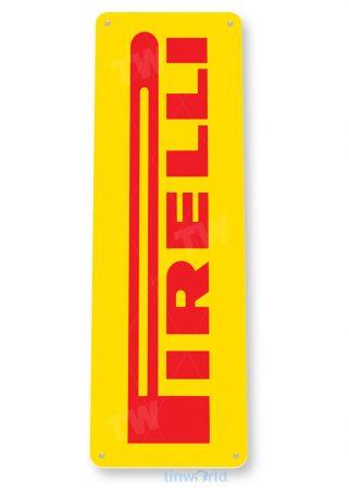 tin sign a957 pirelli tires auto shop sign parts garage cave tinworld tinsign_com