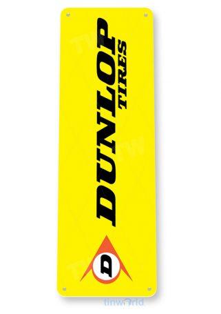 tin sign a958 dunlop tires auto shop sign parts garage cave tinworld tinsign_com