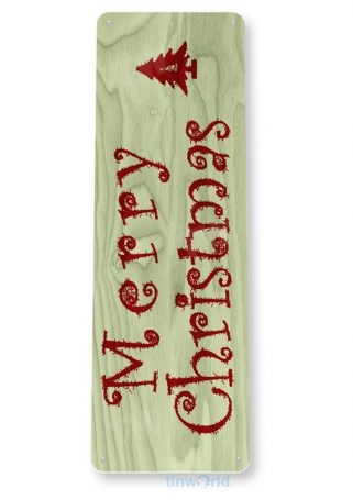 tin sign a971 merry christmas rustic christmas holiday sign cottage farm tinworld tinsign_com