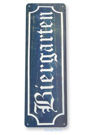tin sign b023 biergarten bier rustic german octoberfest beer sign kitchen cottage pub bar cave tinworld tinsign_com
