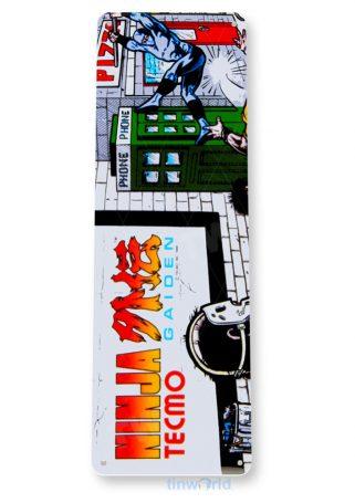 tin sign b032 ninja gaiden arcade game room marquee sign retro console tinworld tinsign_com