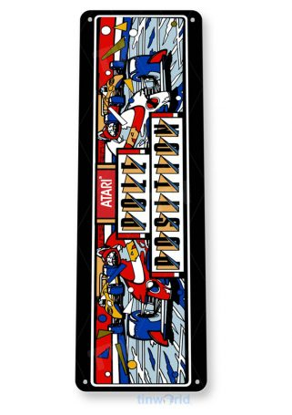 tin sign b034 pole position arcade game room bar marquee sign retro console tinworld tinsign_com