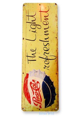 tin sign b052 pepsi refreshment cola cola soda store sign kitchen cottage cave tinworld tinsign_com