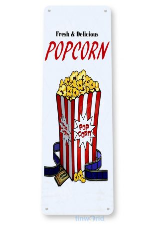 tin sign b055 delicious popcorn home theater sign movie shop kitchen cottage cave tinworld tinsign_com