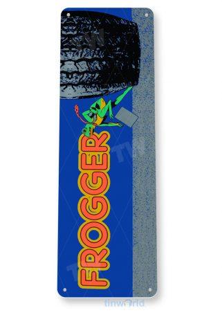 tin sign b062 frogger arcade shop game room bar marquee sign retro console tinworld tinsign_com