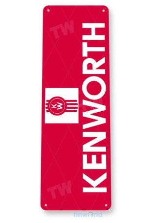 tin sign b077 kenworth truck sign truck stop auto shop garage store cave tinworld tinsign_com
