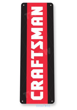 tin sign b099 craftsman power tools toolbox garage auto shop sign tinworld tinsign_com