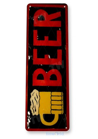 tin sign b110 beer mug rustic retro bar pub sign cottage cave tinworld tinsign_com
