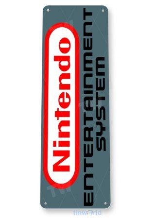 tin sign b186 nintendo entertainment system nes retro games tinworld tinsign_com