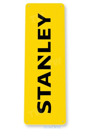 tin sign b251 stanley tools auto shop store sign garage toolbox cave tinworld tinsign_com