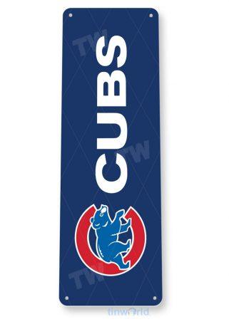 tin sign b264 chicago cubs world champions 2016 sports sign bar cave tinworld tinsign_com