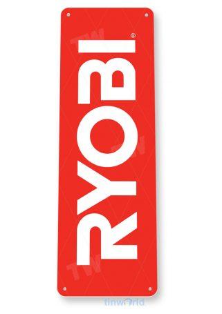 tin sign b299 ryobi tools auto shop store sign garage toolbox cave tinworld tinsign_com