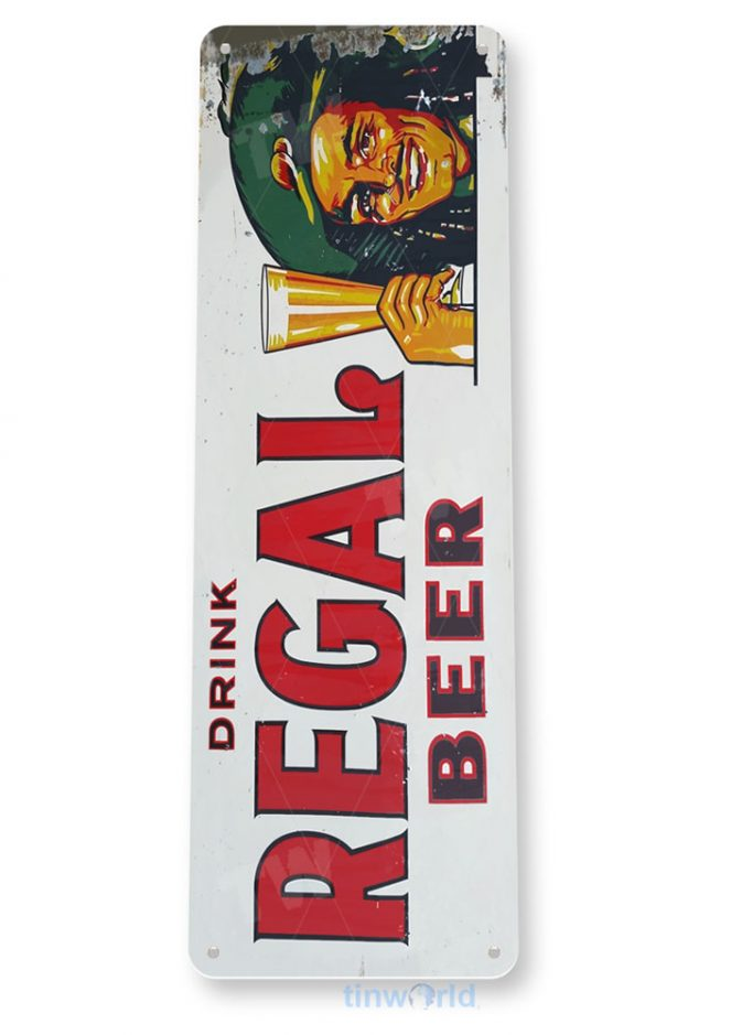 tin sign b305 regal beer retro bar pub sign liquor garage cave tinworld tinsign_com