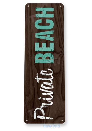 tin sign b461 private beach rustic lake beach house cabin cottage sign tinworld tinsign_com