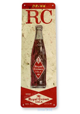 tin sign b586 royal crown cola retro rustic soda store sign kitchen cottage cave tinworld tinsign_com