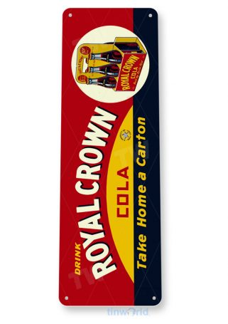 tin sign b587 royal crown cola retro soda store sign kitchen cottage cave tinworld tinsign_com