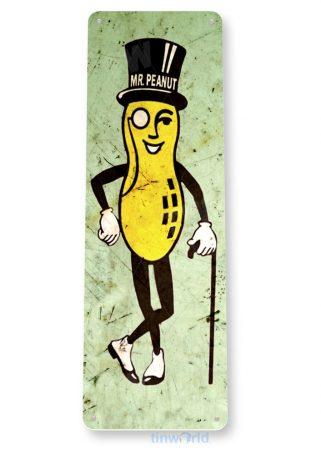 tin sign b638 tin sign mr. peanut rustic peanuts kitchen cottage farm tinworld tinsign_com
