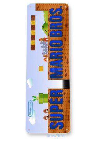 tin sign b741 super mario bros arcade game room shop marquee sign retro console tinworld tinsign_com