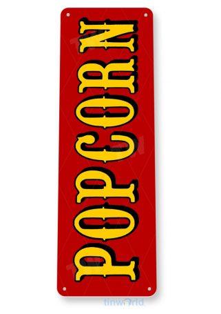 tin sign b897 popcorn machine red pop corn machine movie home theater sign tinworld tinsign_com