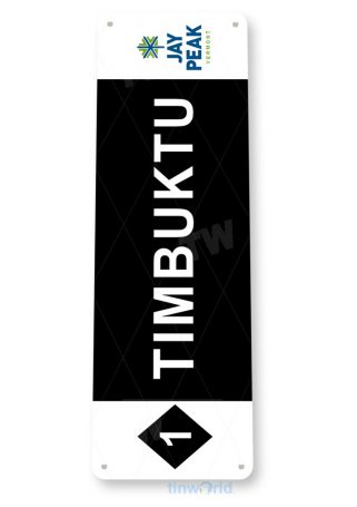 tin sign c160 timbuktu jay peak vermont rustic snow ski slope sign skiing cabin resort lodge copy tinworld tinsign_com
