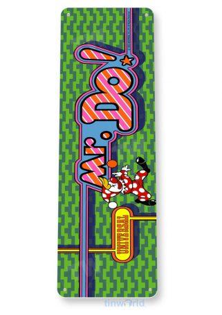 tin sign c489 mr do arcade game room shop marquee sign retro console tinworld tinsign_com