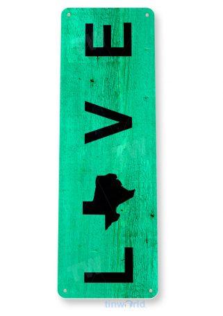 tin sign c550 love texas rustic kitchen beach cottage farm tinworld tinsign_com